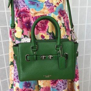 Coach Kelly Green Crossbody Mini Blake